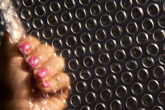Pequeñas cosas increíbles: las burbujas de plástico
