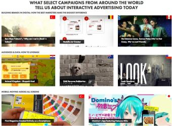 IAB da a conocer las campañas digitales más destacadas a nivel mundial