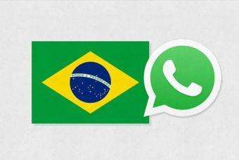 WhatsApp es la aplicación líder en Brasil y supera a Facebook