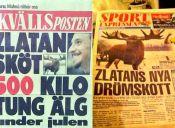 Grupos animalistas repudian a Zlatan Ibrahimovic por cazar a un alce en Suecia