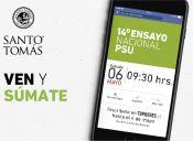 Participa en el 14° Ensayo Nacional PSU organizado por Santo Tomás