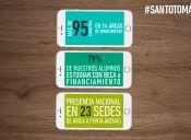Santo Tomás: Formando  profesionales y técnicos que contribuyan al desarrollo del país