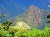Imágenes inspiradoras en Machu Picchu, la montaña tras haber perdido a mi grupo de amigos