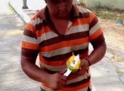 Como comer mango a la mexicana