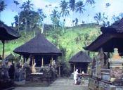 El distrito de Ubud, Bali en 1981