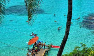 Haciendo snorkel en Isla Mujeres, Cancún