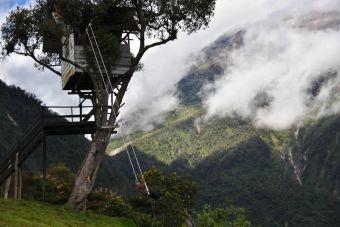 Mochileros por Sudamérica: Vacaciones y aventura en Baños, Ecuador