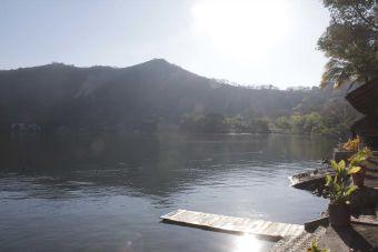El lago de Santa María del Oro - Nayarit, México