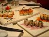Fukai Sushi Lounge and Asian Bistro: Rolls gourmet en el Patio Bellavista