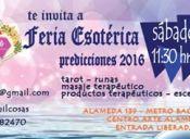 Feria Esotérica: Predicciones 2016 en Centro Arte Alameda
