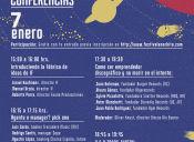 Festival Órbita Conferencias, Conversaciones y Documentales, IF Barrio Italia, 7 y 8 de Enero 2016