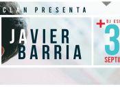 Javier Barría en Bar El Clan