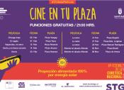 Cine en tu Plaza de la Municipalidad de Santiago
