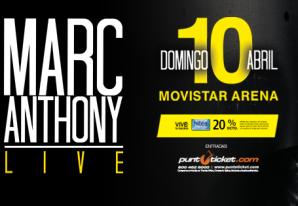 Marc Anthony en Chile