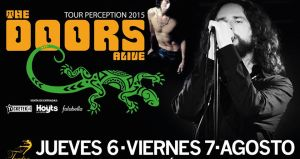Concierto de The Doors Alive en Chile