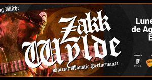 Concierto de Zakk Wylde en Chile