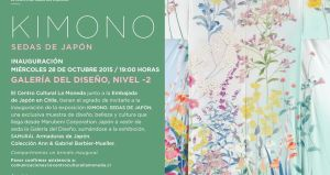 Exposición de telas de Japón en Centro Cultural Palacio La Moneda