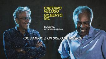 Caetano Veloso y Gilberto Gil en Chile