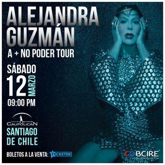Alejandra Guzmán en Chile