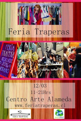 Feria Traperas en Centro Arte Alameda