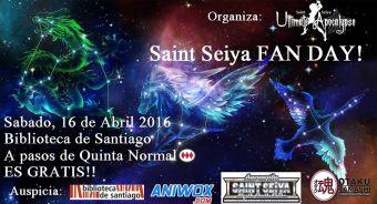 Saint Seiya Fan day en Biblioteca de Santiago