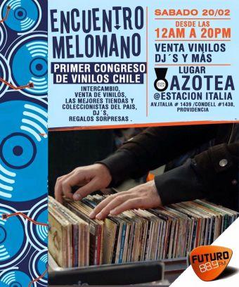 Encuentro Melómano en Estación Italia
