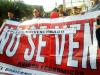 Apoderados de colegios particulares subvencionados marcharon por la