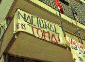 Carabineros desalojó el Instituto Nacional por petición de rectoría