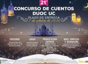Participa en el Concurso de Cuentos del Duoc UC
