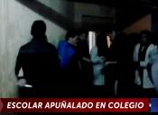 Estudiante apuñala a su compañero en violenta pelea al interior de un colegio de Lebu