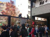 Estudiantes volvieron a tomarse el Instituto Nacional