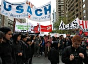 Intendencia Metropolitana no autoriza recorrido solicitado por estudiantes para marcha de este jueves