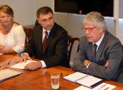 Ministro Eyzaguirre explica puntos claves de la Reforma Educacional