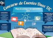 Duoc UC da inicio al 19° concurso de cuentos para estudiantes de 3° y 4° Medio