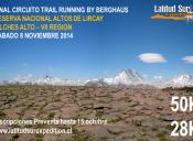 Trail Running Altos de Lircay - 8 de noviembre