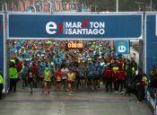 Los premios que recibirán los chilenos del Entel Maratón de Santiago
