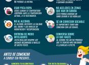 [Infografía Deportiva] Consejos útiles al momento de ejercitarse
