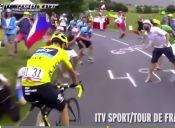 [Video] Escupos e Insultos a  Chris Froome en el Tour de Francia