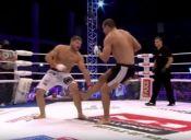 [Video] Impactante rotura de pierna al atacar a su rival