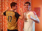 Andy Murray celebra navidad con la camiseta de Alexis