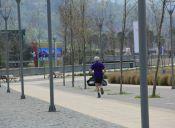 Parque Bicentenario: un buen lugar para correr