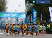 Chilenos lideran categoría Super Runners Adidas en Carrera de las Naciones