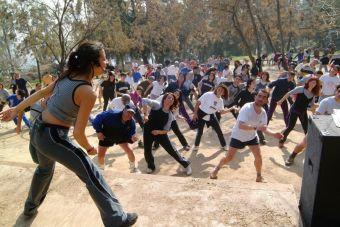 Las actividades deportivas de los parques urbanos de Santiago