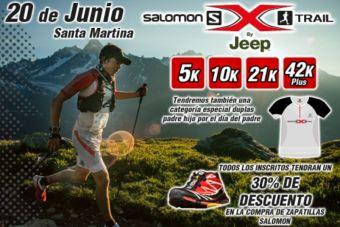 Salomon X Trail Santa Martina - 20 de junio 2015