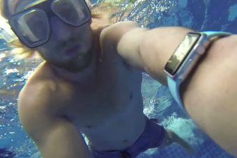 La primera aplicación de monitoreo de natación para Apple Watch