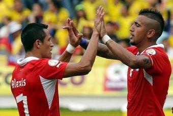 Alexis Sánchez y Arturo vidal se volverán a enfrentar esta tarde por la Champions League