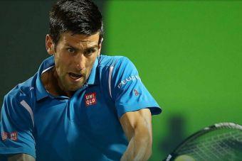 Novak Djokovic llega a octavos de final en el Masters 1000 Miami