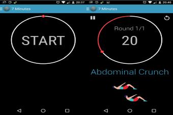Mi App favorita para hacer Ejercicio: 7 minute workout