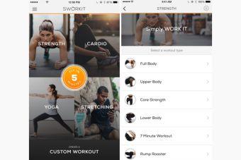 Sworkit Lite, la app para cuando debas faltar al gimnasio