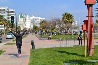 Lugares para Correr: Parque Costero de Viña del Mar